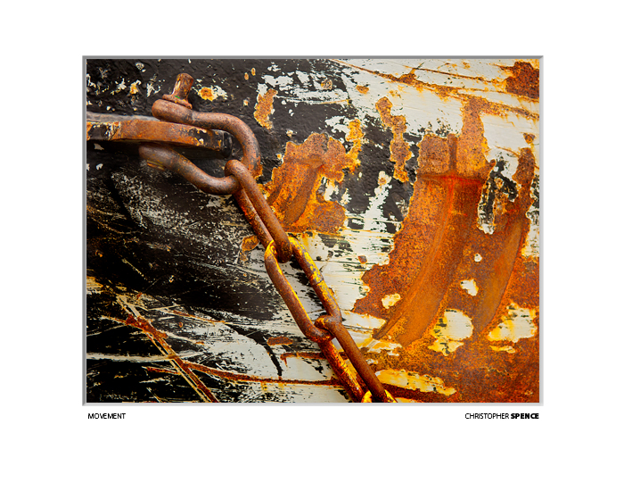abstract photo, rust