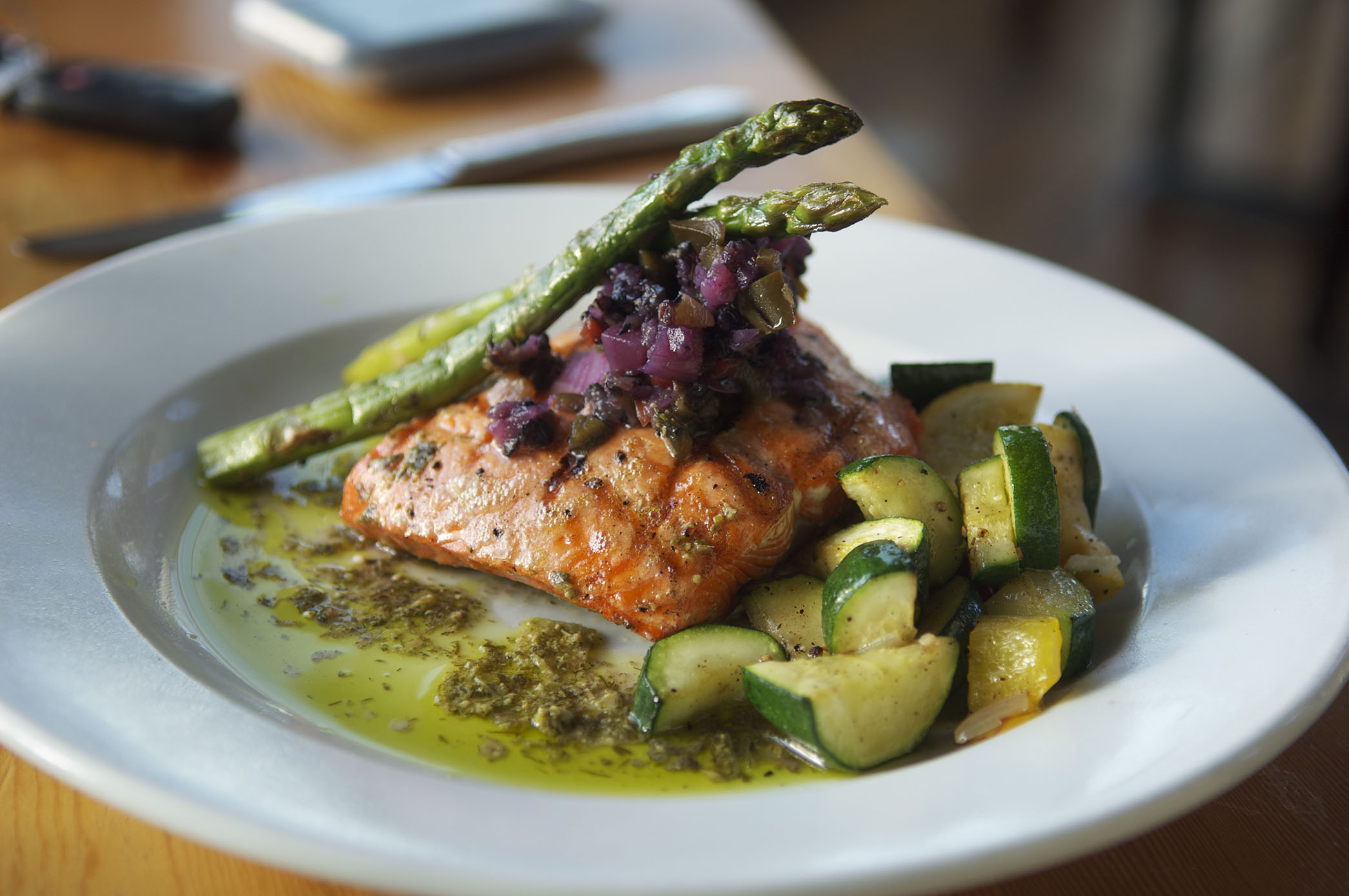 food photo, salmon