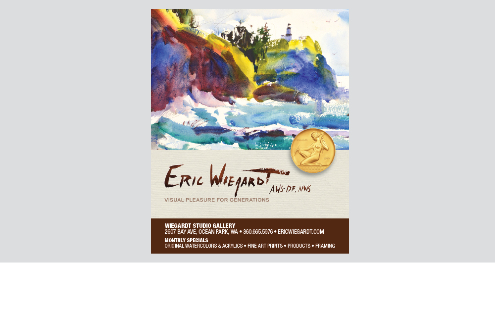 Eric Wiegardt business card