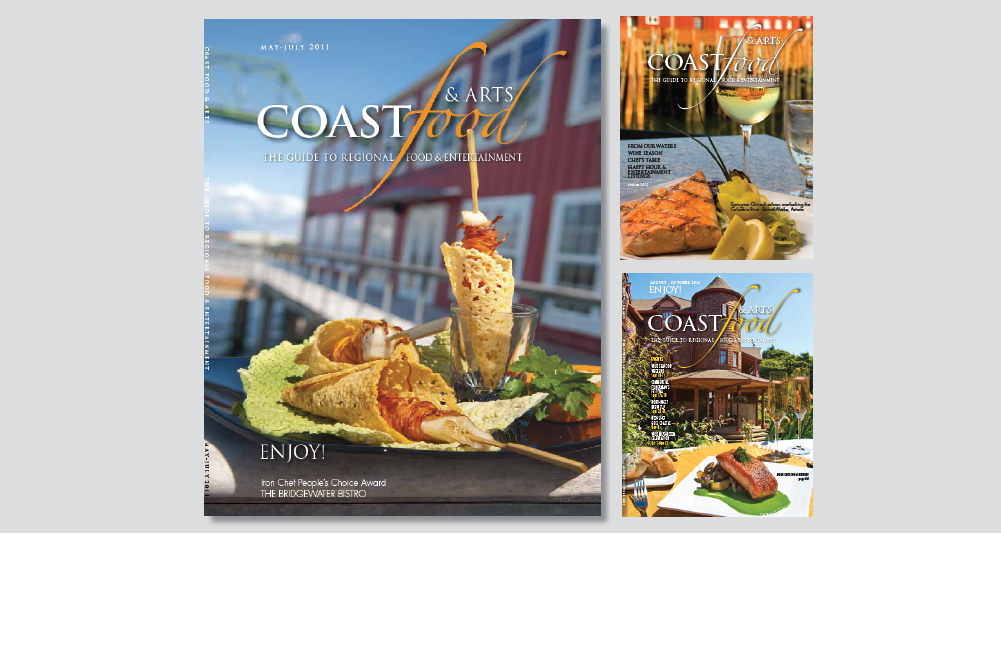 Coast Food magazine photo