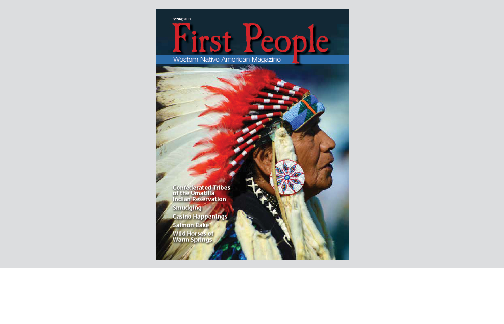 First People magazine cover