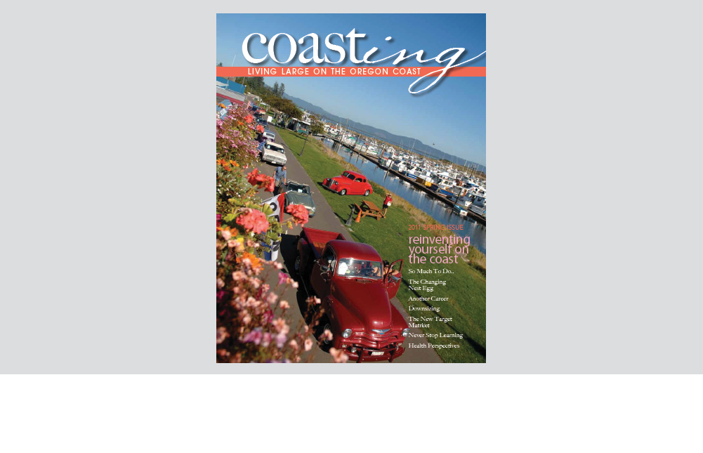 coasting magazine cover photo