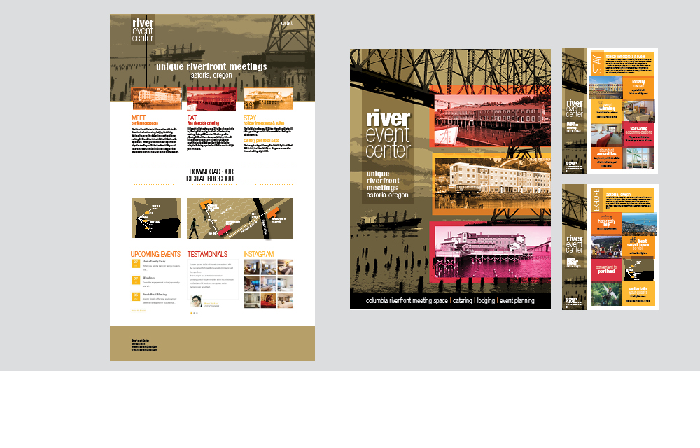 River Event Center brochure