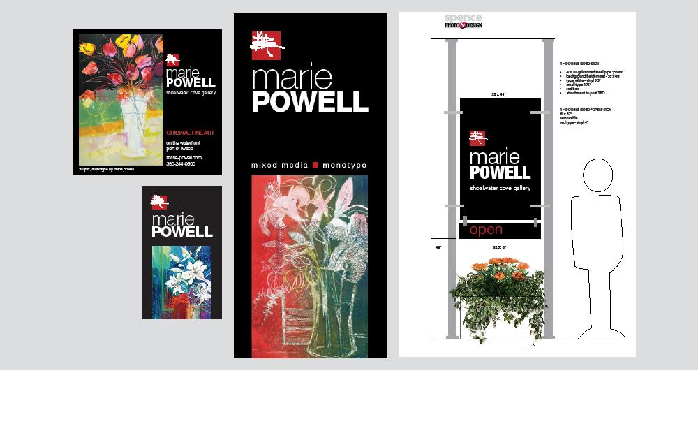 Marie Powell branding
