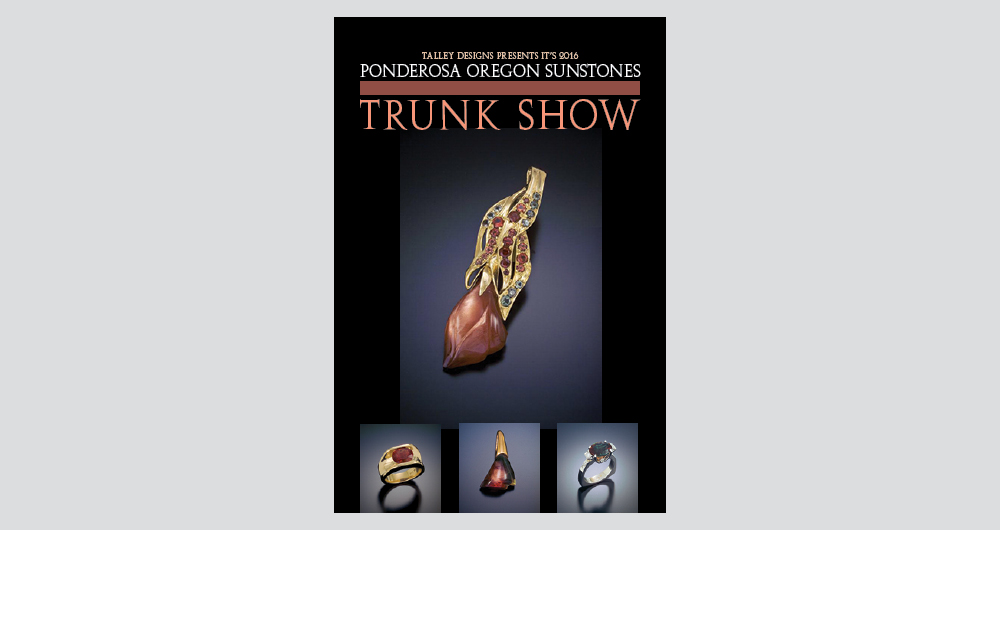 trunk show brochure